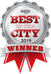 2019 Best of the City Ribbon Winner
